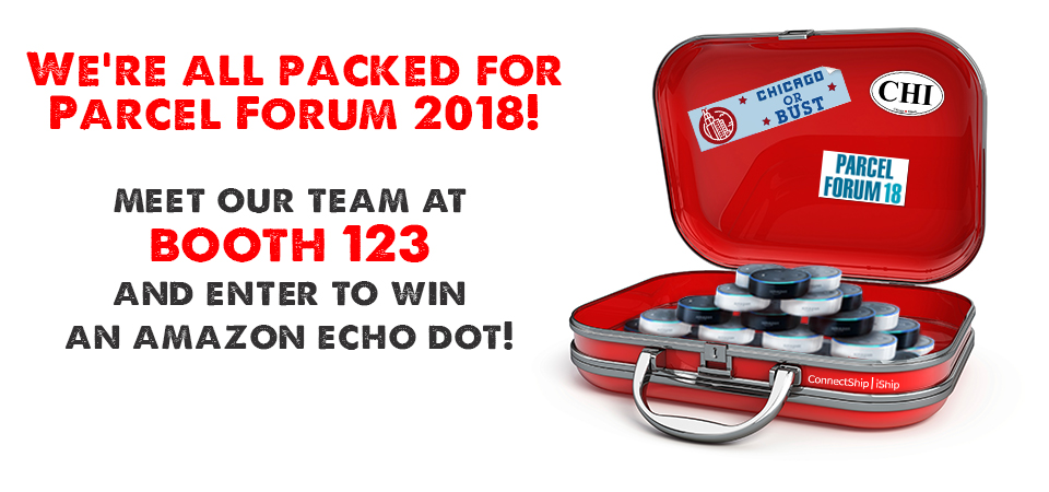 Come see us at Parcel Forum 2018 in Chicago!